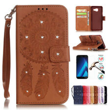 Luxury Wallet Case PU Leather Cover Slot Pouch Stand Flip For Samsung Cell Phone