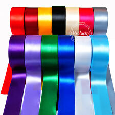 "25yard 1.5"" 38mm Satin Ribbon Roll Gift Bow Wedding Party Favor Craft Decoration"