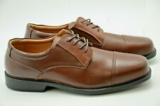 La Milano Mens Genuine Leather Shoes, Brown, Extra wide (EEE) 3E,  lace up, A718