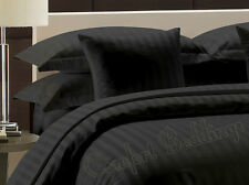 New Hotel Brand Black Stripe 1000TC 100% Egyptian Cotton US Bedding in All Size