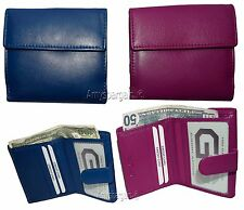 Leather wallet, Billfold wallet, Ladies wallet, credit card case New Coin purse