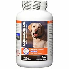 Dog Chewable Tablets Cosequin Supplement With MSM Joint Function Support 132Pcs