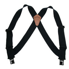 New Perry Men's Big & Tall Elastic Outback Side Clip Trucker Suspenders