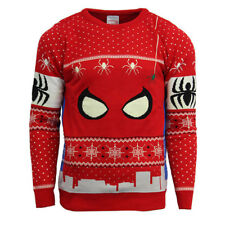 Official Marvel Spiderman Christmas Jumper / Ugly Sweater