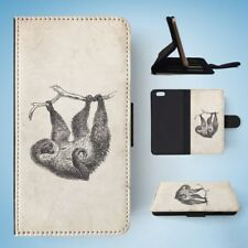 TWO-TOED-SLOTH FLIP WALLET CASE COVER FOR IPHONE 6 / 6S