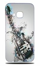 MUSIC ELECTRIC GUITAR 6 HARD CASE COVER FOR HTC ONE M9