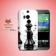 Elegant Chess Piece Board Game Case Cover for HTC