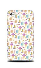 ICE CREAM CAKE MACARON PATTERN HARD CASE COVER FOR APPLE IPHONE 4 / 4S