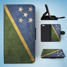 SOLOMON ISLANDS COUNTRY FLAG  FLIP WALLET CASE COVER FOR IPHONE 6 / 6S