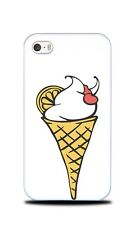 ICE CREAM IN WAFFLE CONE HARD CASE COVER FOR APPLE IPHONE 4 / 4S