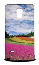 COLORFUL FLORAL FLOWER FIELD HARD CASE COVER FOR SAMSUNG GALAXY NOTE 4