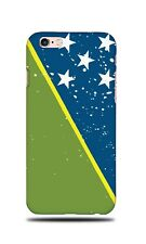 SOLOMON ISLANDS COUNTRY FLAG HARD CASE COVER FOR APPLE IPHONE 6 / 6S