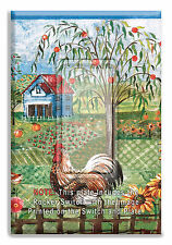 Rooster Farm Chicks Light Switch Plate Wall Cover with Rocker Switch  Outlet