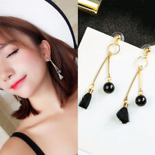 Tassel Candy Colors Fashion Earring Pear Long Section 1 Pair