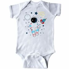 Inktastic Astronaut The Moon Spaceship And Shooting Star For Infant Creeper I