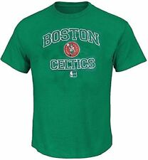 Boston Celtics Green Vintage Heart & Soul T Shirt by Majestic