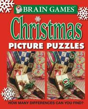 Brain Games: Christmas Picture Puzzles Brand New