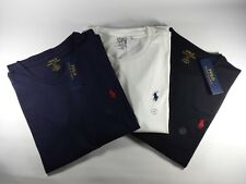 New Genuine Polo Ralph Lauren Custom Fit Cotton Short Sleeve T Shirt BIG SALE