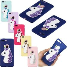 Cute 3D Cute Cartoon Silicone Soft Rubber Case Cover For iPhone 8 7 6 5S SE X