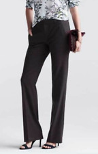 ANN TAYLOR Black Brown Gray Red WOOL Slim &*Wide Leg TROUSER PANTS Slacks 6 8 10