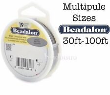 Beadalon 19 Strand BRIGHT Stainless Steel Flex Beading Wire