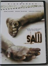 Saw (DVD, 2005) Widescreen Cary Elwes, Danny Glover