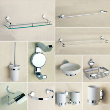 Bathroom Accessories Hardware Soap Dispenser Wall Mounted Towel Bars Robe Hooks