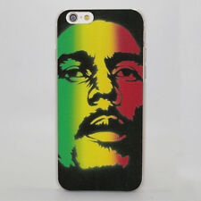 Bob Marley Smoking Oil Painting Design Hard Case for iPhone Samsung Huawei Sony