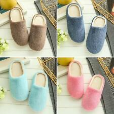 Unisex Winter Warm Soft Home Non-Silp Candy Color Slippers Indoor Shoes Super