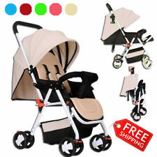 Portable Baby Strollers Pushchair Pram Infant Carriage Lightweight Travel System