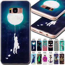 For Samsung Galaxy Phones Rubber Cover Skin Back Various Soft TPU Silicone Case