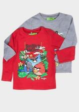 Boys' Angry Birds Rio Long Sleeve T-Shirt - Red