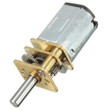 Mini Micro Metal Gear Motor Reduction Gearmotor DC 6/12V 30-300RPM DIY