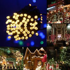 20-500 LED String Fairy Lights Christmas Lights Party Indoor/Outdoor Lighting UK