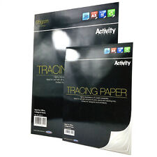 A4 A3 Tracing Paper Drafting Copy Craft Trace Draw Designer Architect Artist Pad