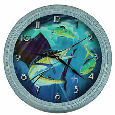 "Rivers Edge Products 15"" Metal Clock"