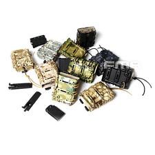 Camo Scorpion RIFLE Mag Single Pouch Carrier 7.62 For Molle Tactical Magazine
