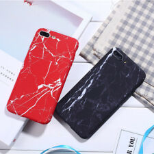 Hard Bumper Hybrid iPhone Case 360° Full Protective Marble Pattern Cover Skins