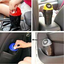 Multi-Function Car Auto Waste Trash Rubbish Bin Can Garbage Dust Case Cup Holder