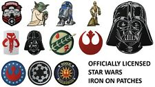 Star Wars Iron On Patches - Officially Licensed