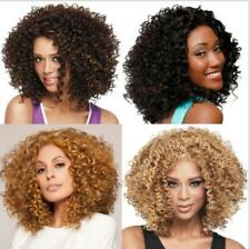 Europe Fashion Women Short Curly Hairstyle African Synthetic Hair Wigs