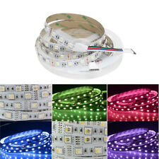 5M DC12V SMD 5050 60 LED/m RGB+White/RGB+WarmWhite Flexible LED Strip Light 4in1