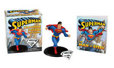 Superman WITH Collectible Figurine and Pendant Kit by Donald Lemke BRAND NEW