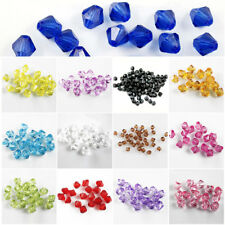 Loose Glass Crystal Faceted Rondelle Charm Spacer Beads 6mm 100pcs