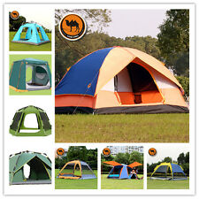 Family Party Camping Tent Outdoor Windproof Waterproof Backpacking Tent 4Season