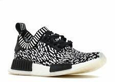 Adidas Mens Originals NMD R1 Pk Sneaker Black/Black/White BY3013