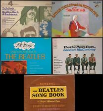 5 LP Lot Bealtes Related/Boston Pops/Ted Heath/Brothers 4/Mustang/101 Strings