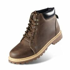 Fashion Casual High Top Work Boots Martin Boots with Soft Rubber Sole for Men T4