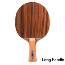 Professional Table Tennis Racket Short/Long Handle Ping Pong Carbon Solid Blade