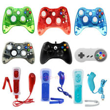Nintendo SNES /Xbox 360 /Wii&Wii U Pro Nunchuck Wired USB PC Games Controllers